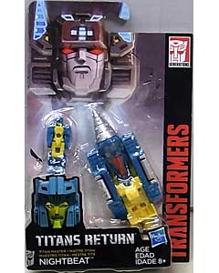 HASBRO TRANSFORMERS GENERATIONS TITANS RETURN TITAN MASTER NIGHTBEAT