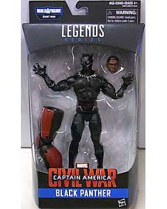 HASBRO MARVEL LEGENDS 2016 CAPTAIN AMERICA SERIES 2.0 映画版 CAPTAIN AMERICA: CIVIL WAR BLACK PANTHER [GIANT MAN SERIES] パッケージ傷み特価