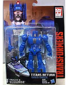 HASBRO TRANSFORMERS GENERATIONS TITANS RETURN DELUXE CLASS FRACAS & SCOURGE