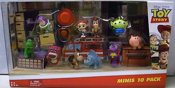 MATTEL TOY STORY MINIS 10 PACK