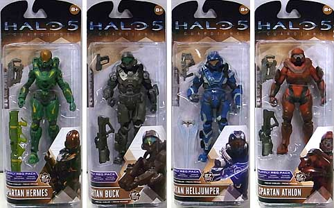 McFARLANE HALO 5: GUARDIANS シリーズ2 4種セット