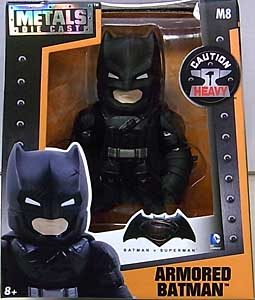JADA TOYS METALS DIE CAST 4インチフィギュア BATMAN V SUPERMAN: DAWN OF JUSTICE ARMORED BATMAN [BLACK]