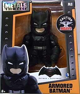 JADA TOYS BATMAN V SUPERMAN: DAWN OF JUSTICE METALS DIE CAST 4インチフィギュア ARMORED BATMAN [BLACK]
