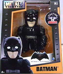 JADA TOYS METALS DIE CAST 4インチフィギュア BATMAN V SUPERMAN: DAWN OF JUSTICE BATMAN [BLACK]