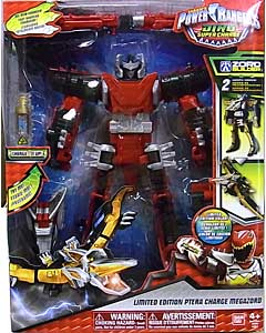 USA BANDAI POWER RANGERS DINO SUPER CHARGE LIMITED EDITION PTERA CHARGE MEGAZORD パッケージ傷み特価