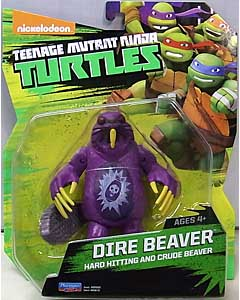 PLAYMATES NICKELODEON TEENAGE MUTANT NINJA TURTLES ベーシックフィギュア 2016 DIRE BEAVER