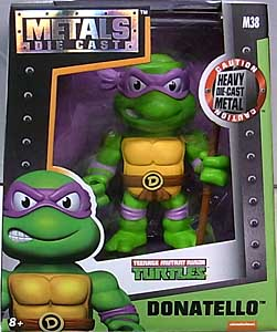 JADA TOYS NICKELODEON TEENAGE MUTANT NINJA TURTLES METALS DIE CAST 4インチフィギュア DONATELLO