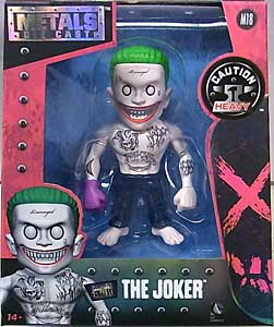 JADA TOYS METALS DIE CAST 4インチフィギュア 映画版 SUICIDE SQUAD THE JOKER