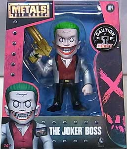 JADA TOYS METALS DIE CAST 4インチフィギュア 映画版 SUICIDE SQUAD THE JOKER BOSS
