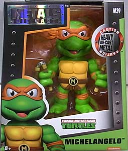 JADA TOYS NICKELODEON TEENAGE MUTANT NINJA TURTLES METALS DIE CAST 4インチフィギュア MICHELANGELO