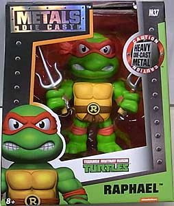 JADA TOYS NICKELODEON TEENAGE MUTANT NINJA TURTLES METALS DIE CAST 4インチフィギュア RAPHAEL