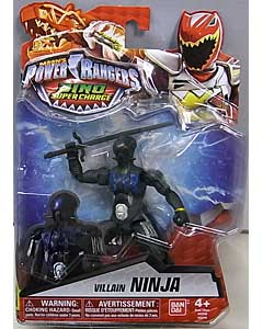 USA BANDAI POWER RANGERS DINO SUPER CHARGE 5インチアクションフィギュア VILLAIN NINJA