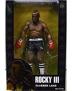 NECA ROCKY 40TH ANNIVERSARY 7インチアクションフィギュア シリーズ1 ROCKY III CLUBBER LANG [BLACK TRUNKS]