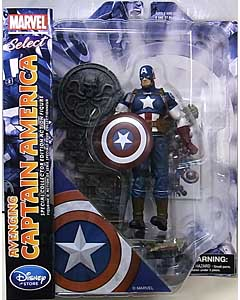 DIAMOND SELECT MARVEL SELECT USAディズニーストア限定 AVENGING CAPTAIN AMERICA