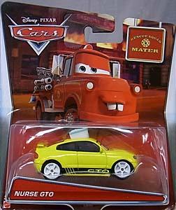 MATTEL CARS 2016 CARS TOON シングル RESCUE SQUAD MATER NURSE GTO