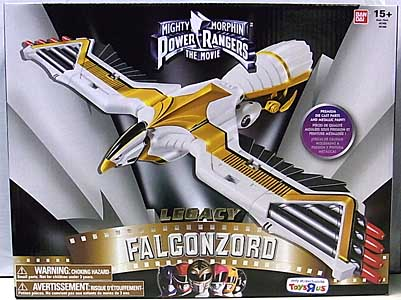 USA BANDAI POWER RANGERS MIGHTY MORPHIN USA TOYSRUS限定 LEGACY FALCONZORD