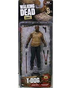 McFARLANE TOYS THE WALKING DEAD TV 4.5インチアクションフィギュア SERIES 9 T-DOG