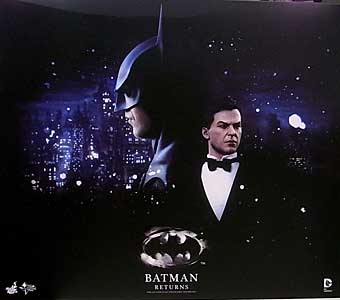 HOT TOYS MOVIE MASTERPIECE 1/6スケール BATMAN RETURNS BATMAN & BRUCE WAYNE