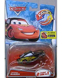 MATTEL CARS 2015 COLOR CHANGERS シングル LIGHTNING McQUEEN [RED-BLACK] 台紙傷み特価