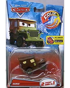 MATTEL CARS 2016 COLOR CHANGERS シングル SARGE