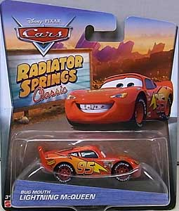MATTEL CARS 2016 RADIATOR SPRINGS CLASSIC シングル BUG MOUTH LIGHTNING McQUEEN ブリスターワレ特価