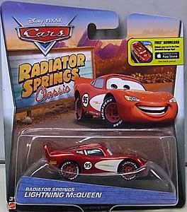 MATTEL CARS 2016 RADIATOR SPRINGS CLASSIC シングル RADIATOR SPRINGS LIGHTNING McQUEEN