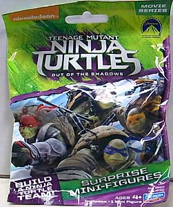 PLAYMATES 映画版 TEENAGE MUTANT NINJA TURTLES: OUT OF THE SHADOWS SURPRISE MINI-FIGURES 1PACK