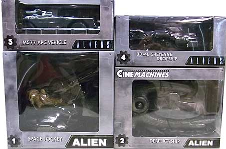 NECA CINEMACHINES DIE CAST COLLECTIBLES SERIES 1 4種セット