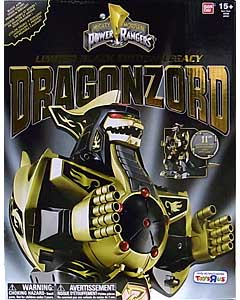 USA BANDAI POWER RANGERS MIGHTY MORPHIN USA TOYSRUS限定 LIMITED BLACK EDITION LEGACY DRAGONZORD パッケージ傷み特価