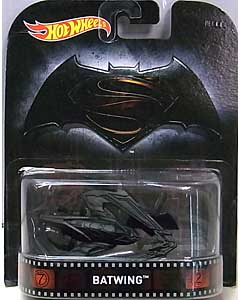 MATTEL HOT WHEELS 1/64スケール 2016 RETRO ENTERTAINMENT BATMAN V SUPERMAN: DAWN OF JUSTICE BATWING