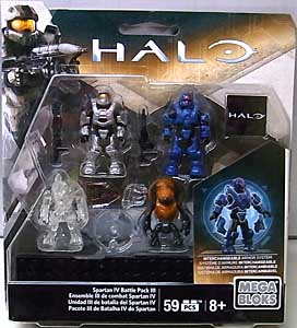 MEGA BLOKS HALO SPARTAN IV BATTLE PACK III 台紙破れ特価