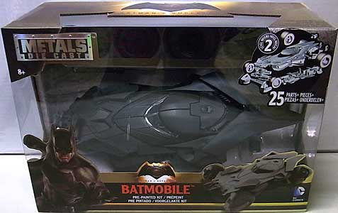 JADA TOYS BATMAN V SUPERMAN: DAWN OF JUSTICE METALS DIE CAST 1/24スケール BATMOBILE [ツヤ有り]