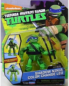PLAYMATES NICKELODEON TEENAGE MUTANT NINJA TURTLES ベーシックフィギュア 2016 SHADOW NINJA COLOR CHANGE LEO