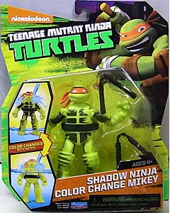 PLAYMATES NICKELODEON TEENAGE MUTANT NINJA TURTLES ベーシックフィギュア 2016 SHADOW NINJA COLOR CHANGE MIKEY