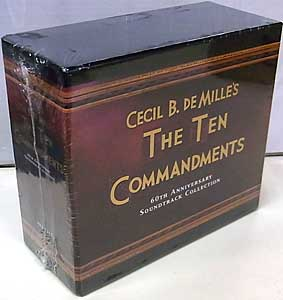 THE TEN COMMANDMENTS 6CD BOX SET