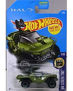 MATTEL HOT WHEELS 1/64スケール 2017 HW SCREEN TIME HALO UNSC WARTHOG #002