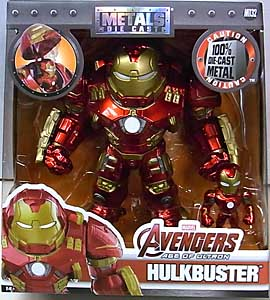 JADA TOYS 映画版 AVENGERS: AGE OF ULTRON METALS DIE CAST 6.5インチフィギュア HULKBUSTER