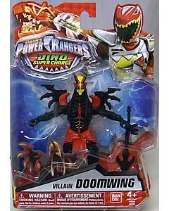 USA BANDAI POWER RANGERS DINO SUPER CHARGE 5インチアクションフィギュア VILLAIN DOOMWING