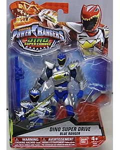 USA BANDAI POWER RANGERS DINO SUPER CHARGE 5インチアクションフィギュア DINO SUPER DRIVE BLUE RANGER