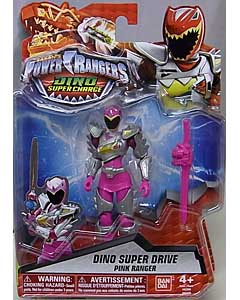 USA BANDAI POWER RANGERS DINO SUPER CHARGE 5インチアクションフィギュア DINO SUPER DRIVE PINK RANGER