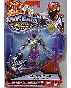 USA BANDAI POWER RANGERS DINO SUPER CHARGE 5インチアクションフィギュア DINO SUPER DRIVE PURPLE RANGER