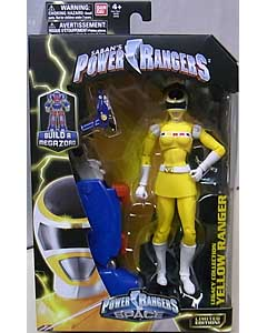 USA BANDAI POWER RANGERS LEGACY COLLECTION 6インチアクションフィギュア IN SPACE YELLOW RANGER パッケージ傷み特価