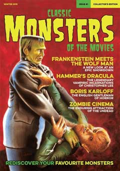 CLASSIC MONSTERS OF THE MOVIES ISSUE #1