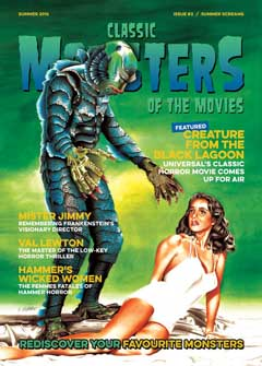 CLASSIC MONSTERS OF THE MOVIES ISSUE #3