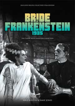 THE CLASSIC MOVIE MONSTERS COLLECTION BRIDE OF FRANKENSTEIN