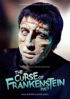THE CLASSIC MOVIE MONSTERS COLLECTION THE CURSE OF THE FRANKENSTEIN