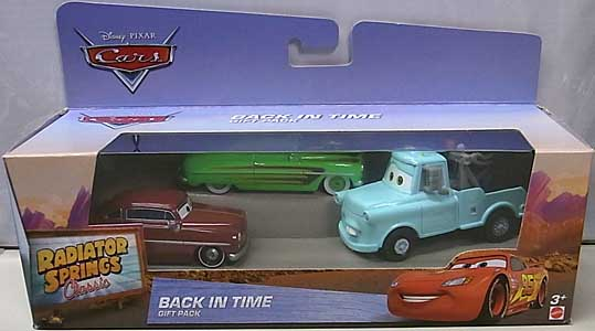 MATTEL CARS 2016 RADIATOR SPRINGS CLASSIC BACK IN TIME 3PACK