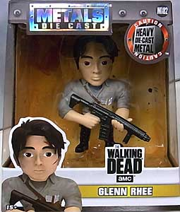 JADA TOYS METALS DIE CAST 4インチフィギュア THE WALKING DEAD TV GLENN RHEE