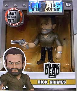 JADA TOYS METALS DIE CAST 4インチフィギュア THE WALKING DEAD TV RICK GRIMES