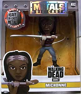 JADA TOYS THE WALKING DEAD TV METALS DIE CAST 4インチフィギュア MICHONNE